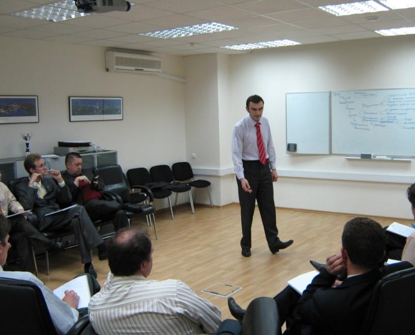 Тренинг внутренних тренеров